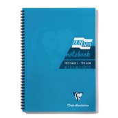 Clairefontaine Europa Notebooks - Turquoise - A4 - Pack of 5