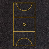 Netball Court Markings - 30x15m