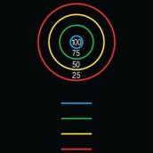 Circle Target Markings - 7x4m