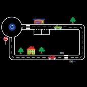 Roadway Markings - 8x7m