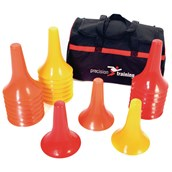 Precision Marker Cone Drill - Assorted - Pack of 24