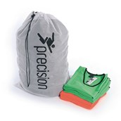 Precision Bib Carry Bag - White/Black