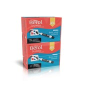 Berol Whiteboard Marker Assorted, Chisel Tip - Pack of 96