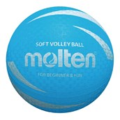 Molten PRV-1 Non-Sting Volleyball - Blue - Size 5 - Pack of 12