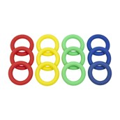 PVC Ring - Assorted - Pack of 12