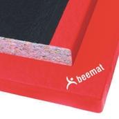 Beemat Club Judo Mat - Red - 2m x 1m x 40mm