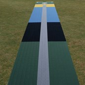 Flicx Eagle Eye Cricket Coaching Pitch - 18.12x1.8m (Colt)