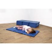 Folding Rest Mat - Blue
