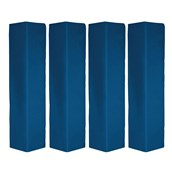 Rugby Post Pad - Blue - 6in - Pack of 4