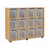 RUB Storage Unit 12x24L inc Boxes