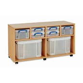 RUB Combi Unit 4x4L 2x9L 2x35L inc Boxes