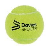 Davies Sports Practice Tennis Ball - Yellow - Pack of 96