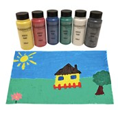 Classmates Acrylic Paint - 500ml - Assorted - Pack of 6