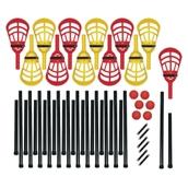 Sofcross-4 Lacrosse Set - Red/Yellow