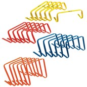 Precision Flat Hurdles - Assorted - Pack of 24