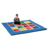 Square Placement Medium Outdoor Mat