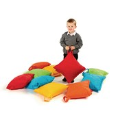 Outdoor Square Cushions - Set of 10 - pack of 10