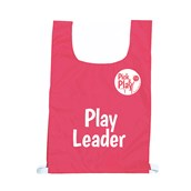 Pick & Play Play Leader Bib - Red - One size