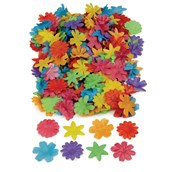 Colourful Fabric Flowers - Pack of 300