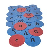 Lowercase Alphabet Indoor/Outdoor Spots from Hope Education