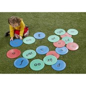 Phonics Indoor/Outdoor Spots from Hope Education