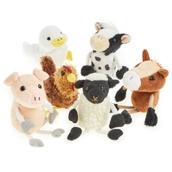 Farm Animal Finger Puppets - Pack of 6