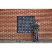 Outdoor/Indoor Chalkboard 1-100 Number Square