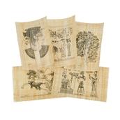 Pre-drawn Papyrus Sheets