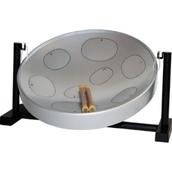 Jumbie Jam Table Top Steel Pan - Grey