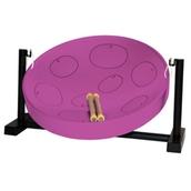 Jumbie Jam Table Top Steel Pan - Purple