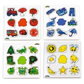 Just Jigsaws Colours Pegboard