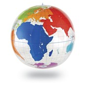 Inflatable Labelling Globe