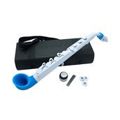 Nuvo jSax - White with Blue Trim