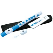 Nuvo TooT - White with Blue Trim