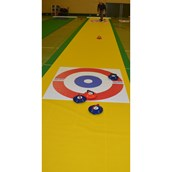 Kurling Floor Mat - Multi - 14m