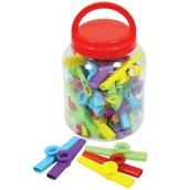 Pack of 30 - Plastic Kazoo