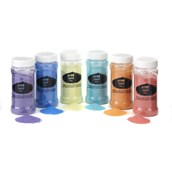 Coloured Sand Shakers - Pastel Colours