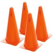 Precision Traffic Cones - Orange - Pack of 4