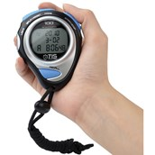 Tis Pro 234 100 Lap Stopwatch - Blue/Grey