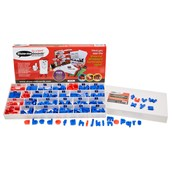 Show-me Colour-Coded Magnetic Letters Tray Set - Pack of 286