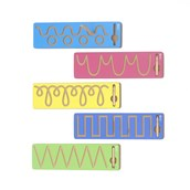 Wooden Pre-Writing Boards - Pack of 5