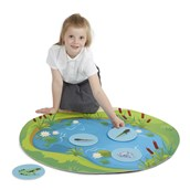 Frog Life Cycle Mat brought to you by Hope Education