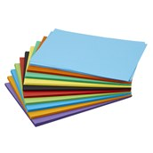 Assorted Bright Coloured Card 230 Micron A4 - Pack of 250