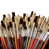 Assorted Paint Brush Bumper Pack - Pack of 150