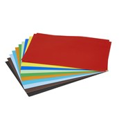 EduCraft Poster Paper Sheets - A3 - Assorted - Pack of 100