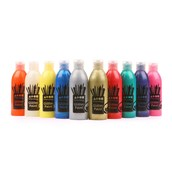 Brian Clegg Glitter Paint - 300ml - Assorted - Pack of 10