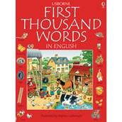 First Thousand English Words Book