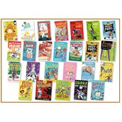 Brown Banded Book Collection - Pack of 25