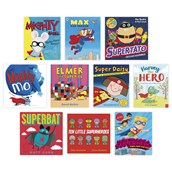 Superheroes Book Pack for KS1-KS2 - Pack of 10