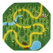 Through the Woods Story Telling Play Tray Mat from Hope Education